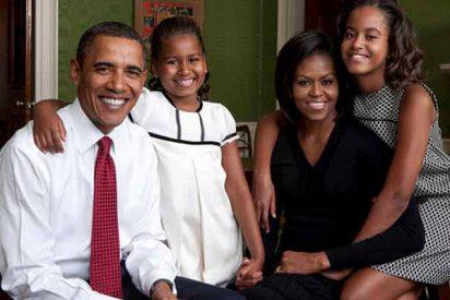 ¿Atrevimiento o inocencia?: El vestido de graduación de Sasha Obama dejó a todos temblando