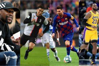 Los 10 deportistas más millonarios de la década