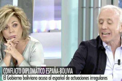 Eduardo Inda 'sacude' a Elena Valenciano (y a su disciplina partidista) por fingir no saber nada de Bolivia