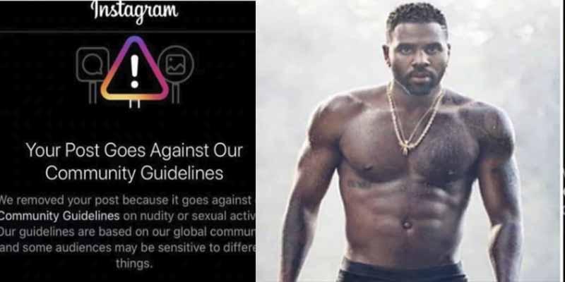 """""""No puedo evitar mi tamaño"""": Instagram censuró a Jason Derulo por mostrar su 'tercera pierna' en ropa interior"""