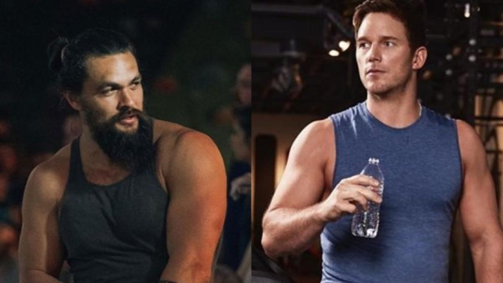 El choque entre Aquaman y Star Lord: Jason Momoa 'zarandea' a Chris Pratt en público