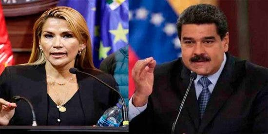 """El Gobierno de Jeanine Áñez denunció el plan desestabilizador del dictador Nicolás Maduro: """"Está financiando el terror"""""""