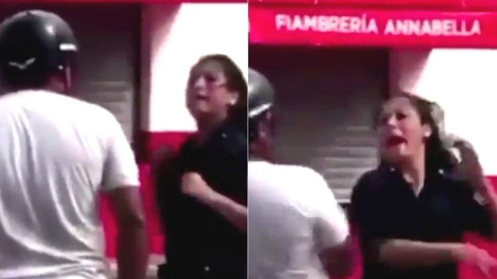 Vídeo: Un hombre agrede a una oficial de policía y ella le devuelve el golpe sin titubear