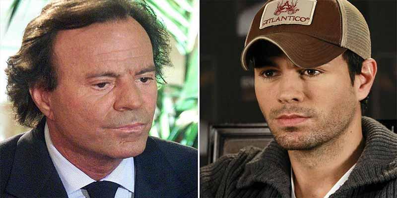 Enrique Iglesias se armó de valentía y le dio la cara a su padre después de más de 20 años
