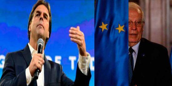 Frenazo a las complicidades de Borrell: El presidente electo de Uruguay anunció cambios frente a la dictadura de Nicolás Maduro