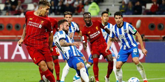 Los Rayados de Monterrey caen como 'héroes' en el último minuto ante el poderoso Liverpool