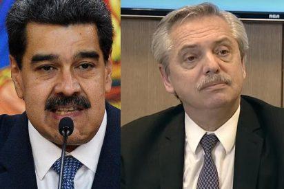 El extraño 'giro' de Alberto Fernández: critica tímidamente a Maduro