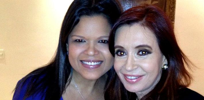 Fotos: Los horribles 'muñequitos vudú' que la hija de Hugo Chávez regaló a Cristina Fernández de Kirchner