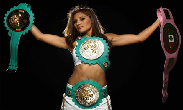 Fotos: Esta es la sensual boxeadora mexicana que se convirtió en la musa de Playboy