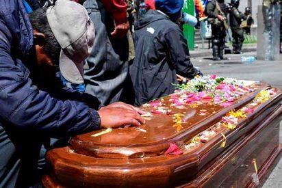 Los familiares de los muertos durante las protestas en Bolivia recibirán indemnización del Gobierno