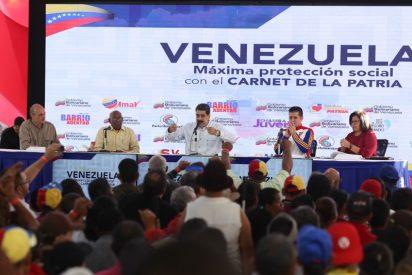 """La última 'maburrada' del dictador venezolano: """"Cuando está gobernando Maduro está gobernando Cristo"""" [vídeo]"""