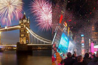 ¿Cómo celebran la Nochevieja en las grandes capitales del mundo?