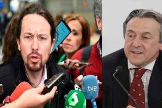"""Hermann Tertsch 'revienta' las mentiras disfrazadas del 'vicechavista' Pablo Iglesias: """"20.000% de inflación y mucha hambre"""""""