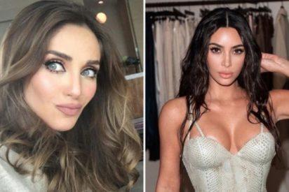 Una artista mexicana lanza veneno contra las cirugías estéticas de Kim Kardashian:
