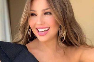 """""""Chúpame el queso"""": El vídeo de Thalia y la polémica con Cristian Castro"""
