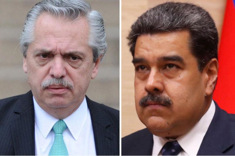 Alberto Fernández abraza con fuerza el chavismo: eliminará sanciones contra Venezuela