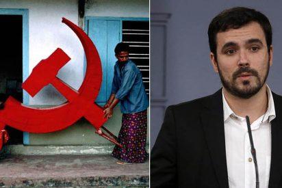 """Girauta le pinta la cara al 'comunista caviar' Alberto Garzón por sus loas a un """"asesino desalmado"""" y homófobo latinoamericano"""