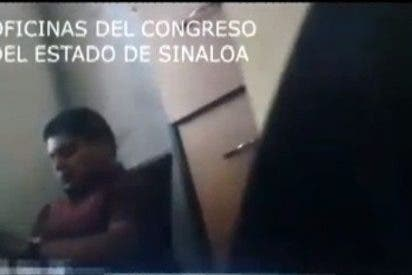 Vídeo: Pillan a un diputado de AMLO teniendo sexo al interior del Congreso de México