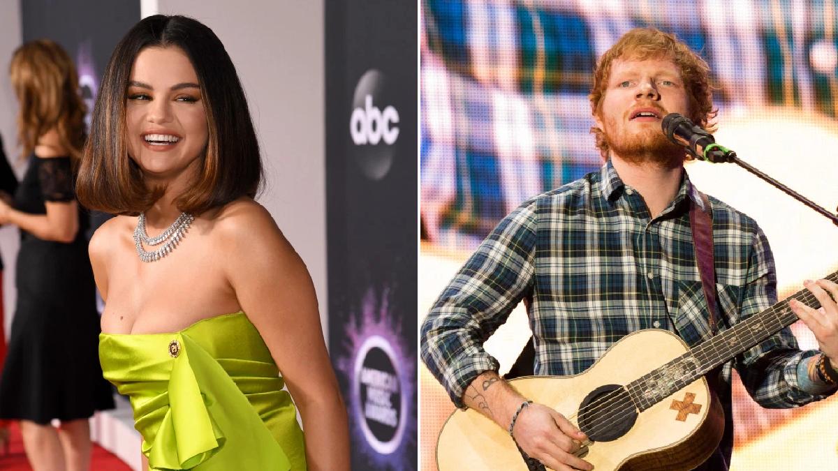 "Selena Gómez confiesa que ""ensució sus pantalones"" la primera vez que vio a Ed Sheeran"