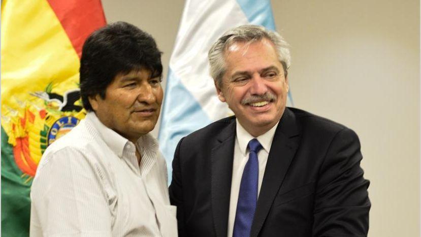 Alberto Fernández rechaza detener al fraudulento Evo Morales y reta a Bolivia: aumentaré su custodia policial