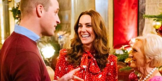 Escándalo en Casa Real: el vídeo que muestra la fea reacción de Kate Middleton ante una caricia del príncipe William