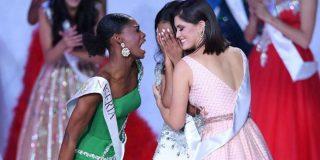 Vídeo: Así fue la inesperada reacción de la concursante de Nigeria tras perder la corona de Miss Mundo 2019