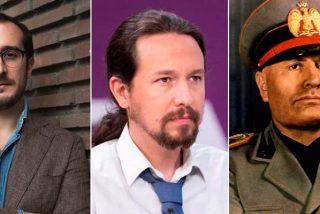 """El periodista italiano que estudió a Podemos hasta los huesos: """"Pablo Iglesias recuerda a muchos personajes, incluso a Mussolini"""""""