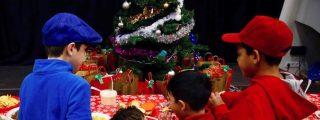Cómo pasa la Navidad un niño venezolano refugiado en Madrid