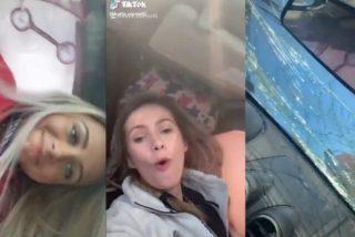 Insólito: Dos adolescentes sufren un peligroso accidente de tránsito y su primera reacción fue grabar un video para TikTok